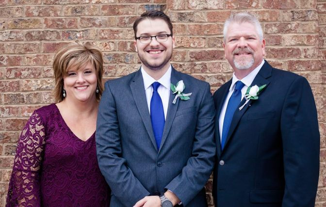 Us on #1 son's wedding day